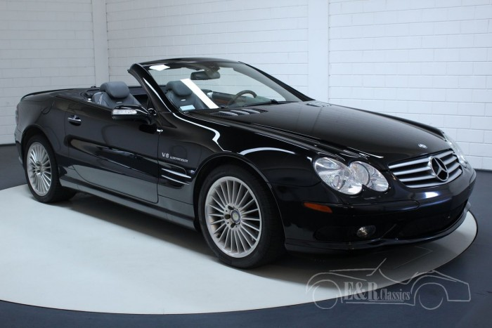 Mercedes-Benz SL 55 AMG convertible black 2006 for sale