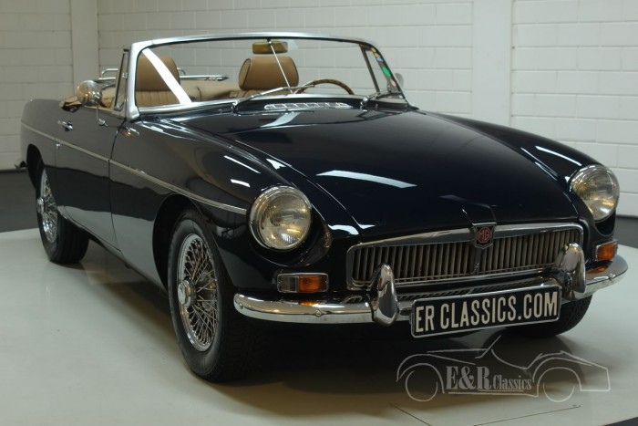 MG B cabriolet 1963  for sale