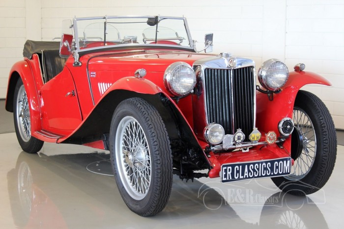 MG TC Roadster 1948 for sale