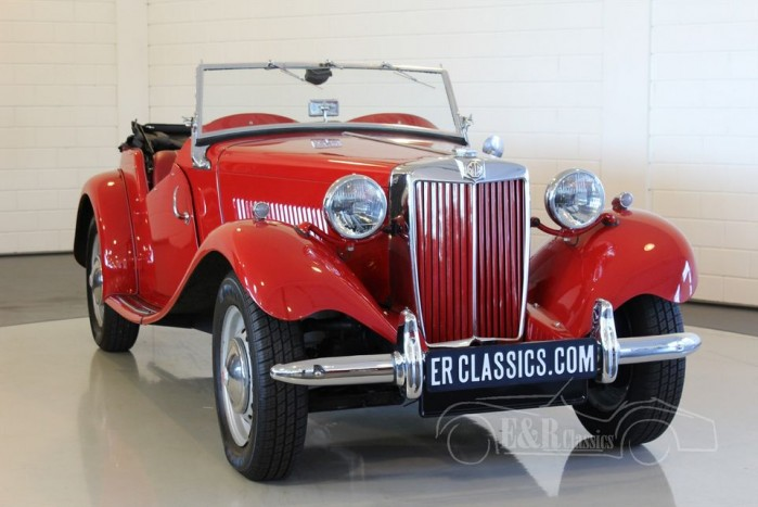 MG TD cabriolet 1953 for sale