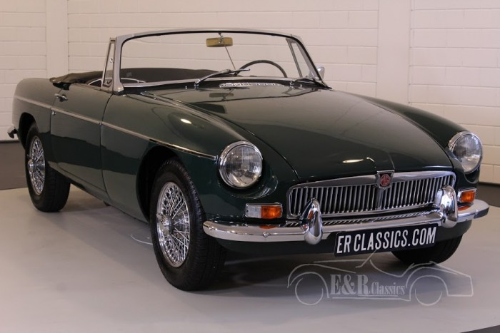 MG MGB Cabriolet 1965 for sale