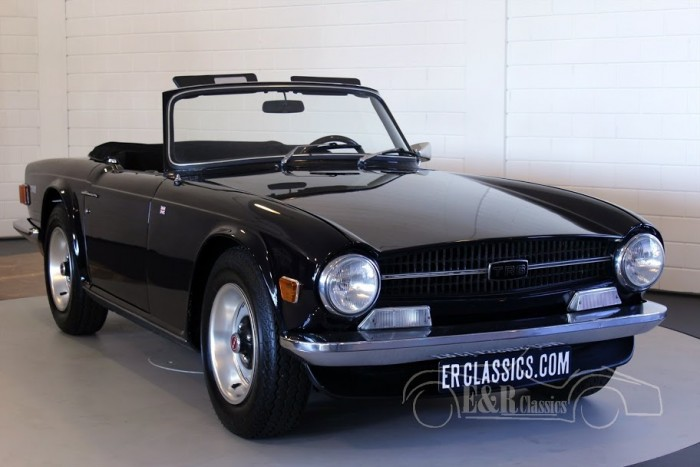 Triumph TR6 PI Cabriolet 1970 for sale