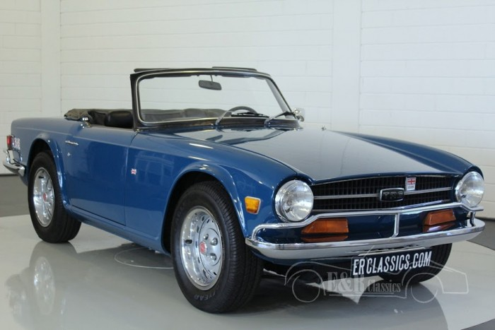 Triumph TR6 Cabriolet 1974 for sale