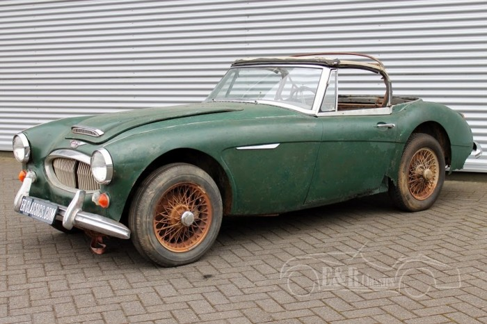Austin Healey 3000 MKIII 1966 for sale