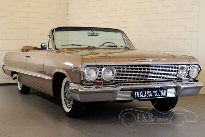 Chevrolet Impala SS Cabriolet 1963 for sale