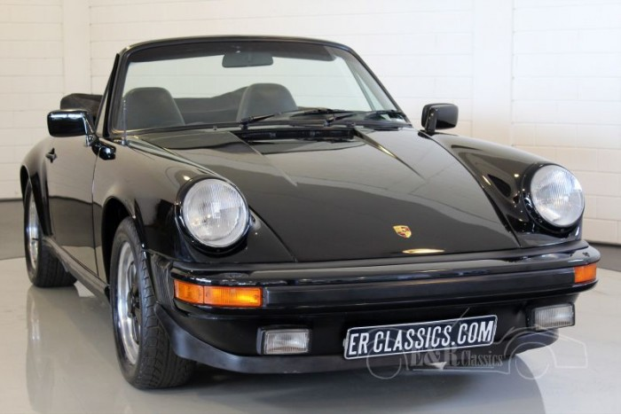 Porsche 911 SC Cabriolet 1983 for sale at ERclics