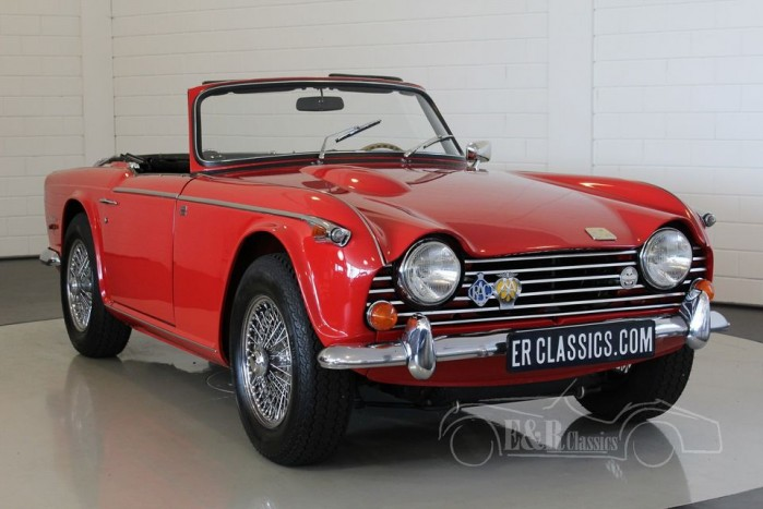 Triumph TR250 cabriolet 1968 for sale
