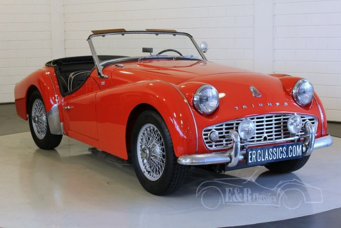 Triumph TR3 A cabriolet 1958  for sale