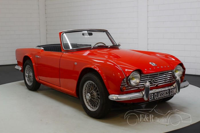 Triumph TR4 for sale