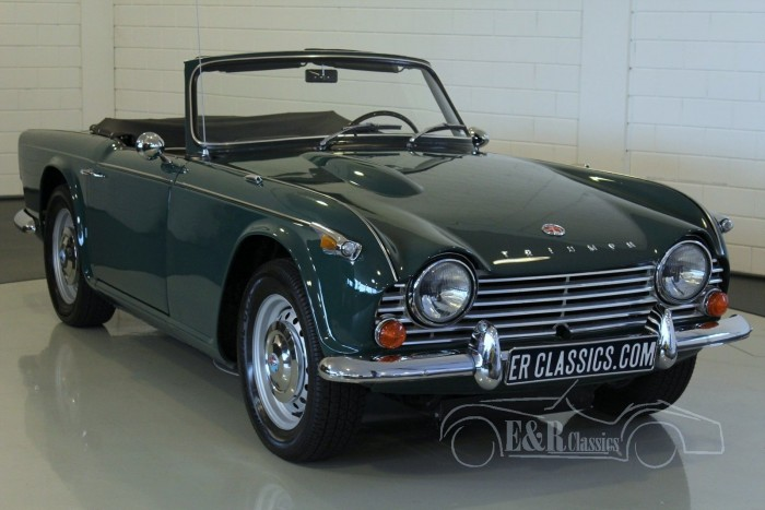 Triumph TR4 A IRS cabriolet 1968 for sale
