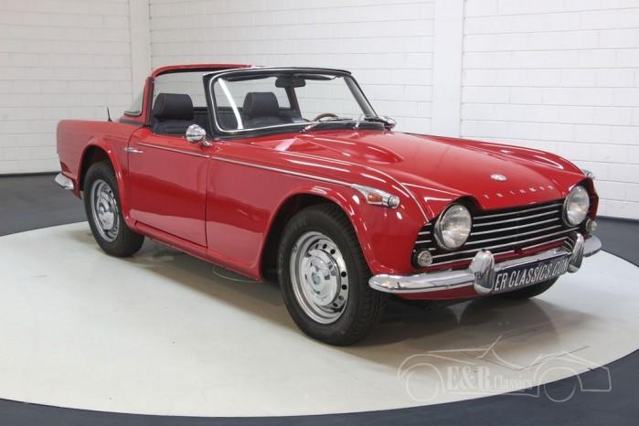 Sprzedaż Triumph TR4A IRS