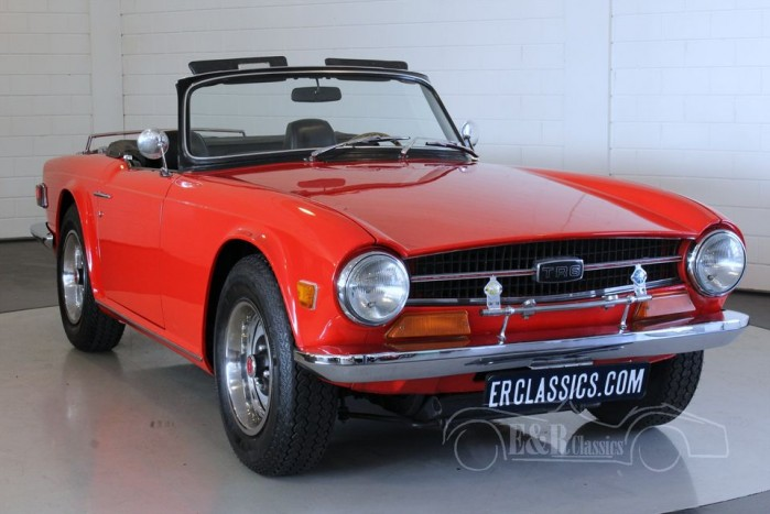 Triumph TR6 Cabriolet 1973 for sale