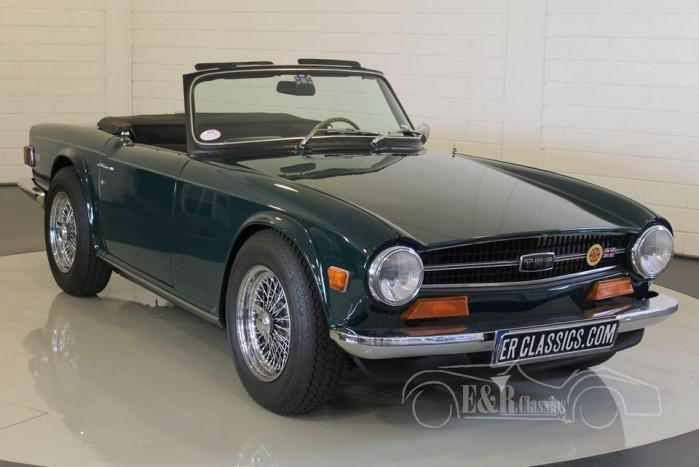 Triumph TR6 Roadster 1973 for sale