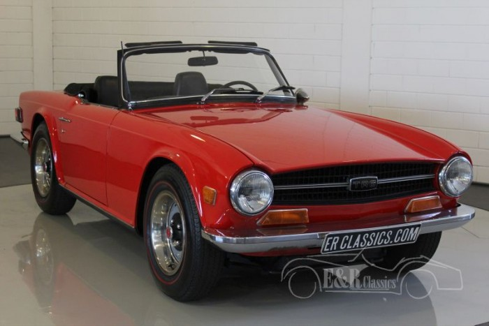 Triumph TR6 Roadster 1970  for sale