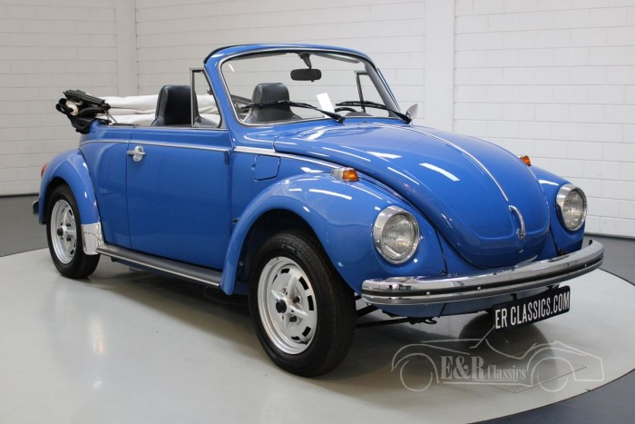 Volkswagen Beetle 1303LS cabriolet  for sale
