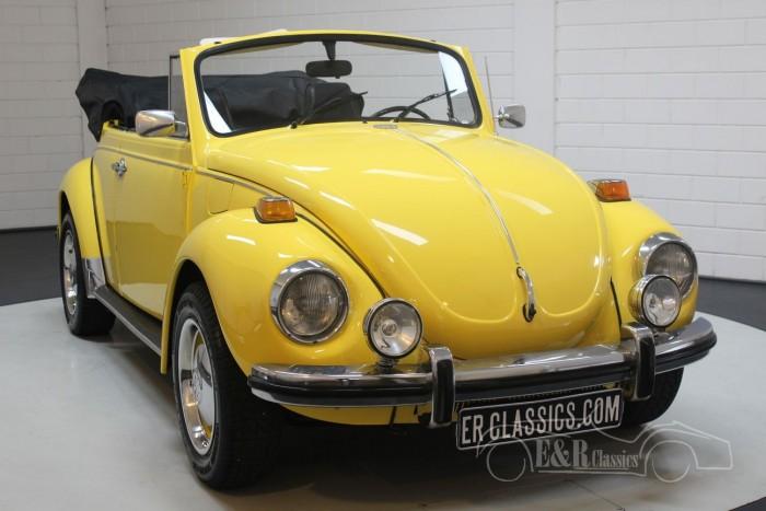 Volkswagen Beetle Cabriolet Yellow 1972 for sale