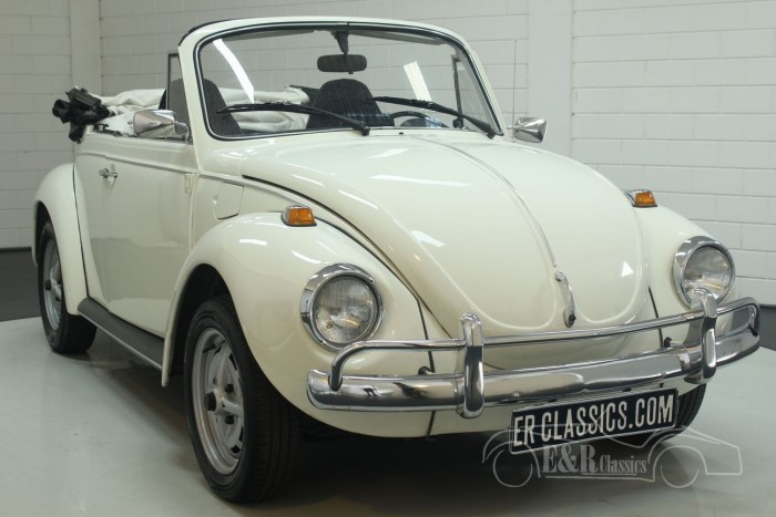 VW Beetle cabriolet 1973  for sale