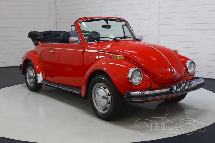VW Beetle Cabriolet til salg