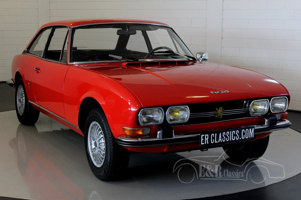 peugeot 504 c12 coupe 1973 for sale at erclassics. Black Bedroom Furniture Sets. Home Design Ideas