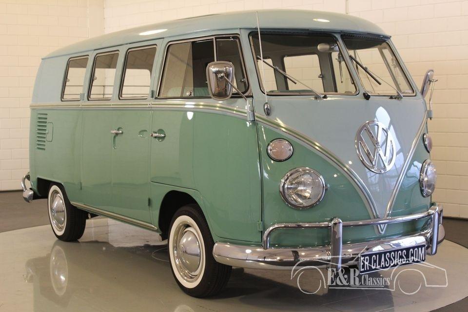 volkswagen t1 kombi 1966 for sale at erclassics. Black Bedroom Furniture Sets. Home Design Ideas