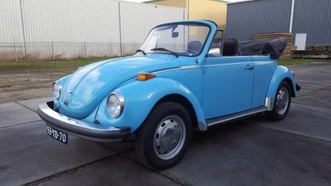 Volkswagen Beetle 1303 Cabriolet 1974 na prodej