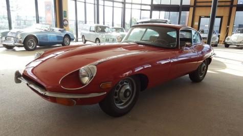 Prodej 2-místného kupé Jaguar E-type S2 Coupé 1969