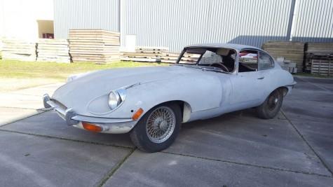 Jaguar E-type S2 Coupé de 2 lugares 1969 à venda