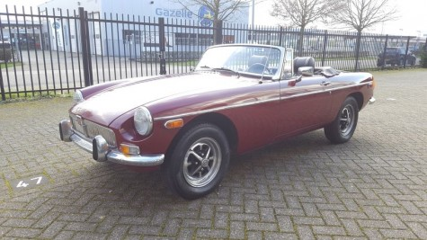 MG B Cabriolet 1978 for sale