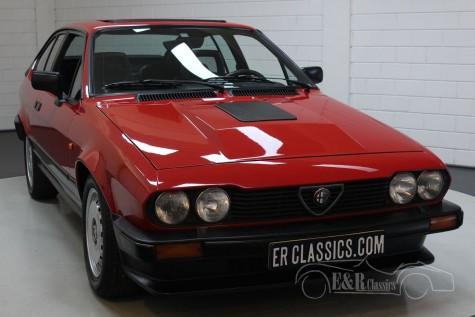 Alfa Romeo GTV6 2.5 V6 1986 for sale
