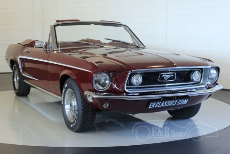 Ford Mustang GT cabriolet 1968 for sale