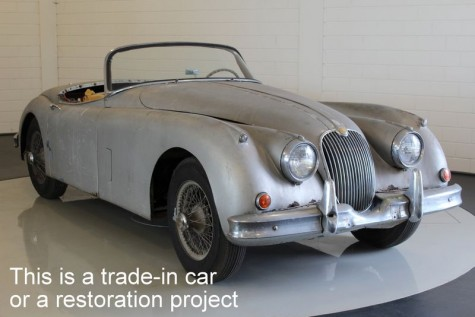 Jaguar XK150 OTS 1958  for sale