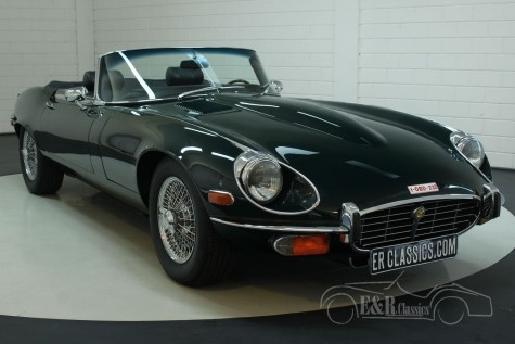 Jaguar E-Type S3 cabriolet 1973 for sale