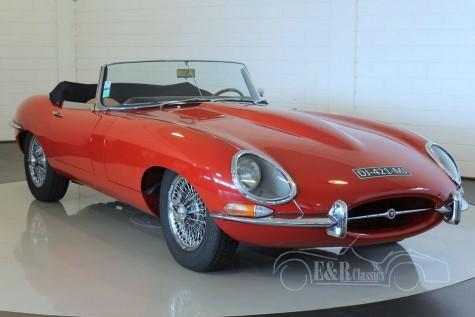 Jaguar E-type Series 1 Cabriolet 1962 for sale