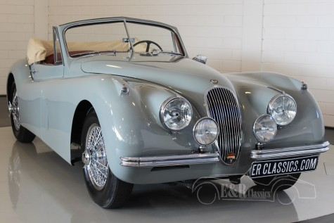 Jaguar XK 120 DHC 1954  for sale