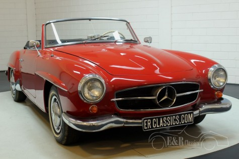 Mercedes-Benz 190SL 1962 cabriolet for sale