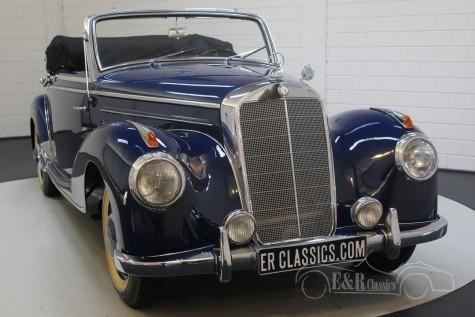 1952年 メルセデス-ベンツ 220A カブリオレ