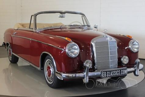 Mercedes-Benz 220S cabriolet Ponton 1958  for sale
