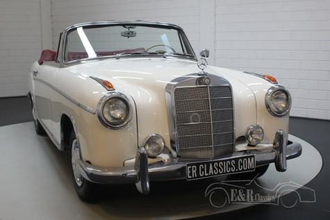 Predaj Mercedes-Benz 220SE Ponton Cabriolet 1960