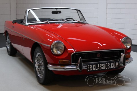 MG B descapotable 1971 en venta