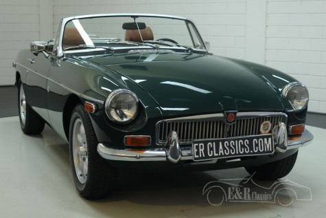 MG B cabriolet 1974  for sale