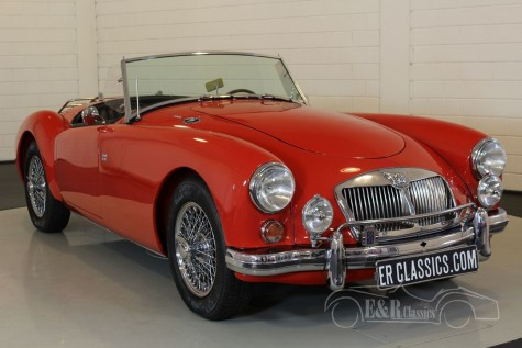 MG A cabriolet 1962 for sale