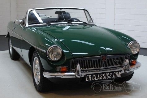 MG B Cabriolet V8 1976  for sale