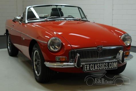 بيع MG B cabriolet V8 1977