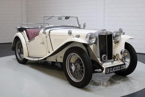 MG TC 1947 na prodej