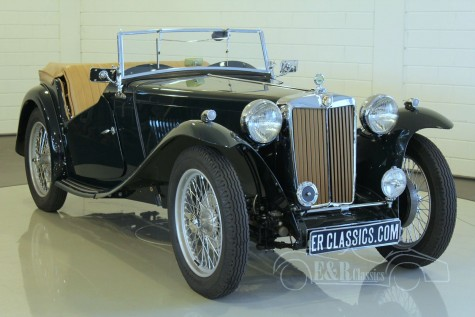 MG TC Roadster 1947 for sale
