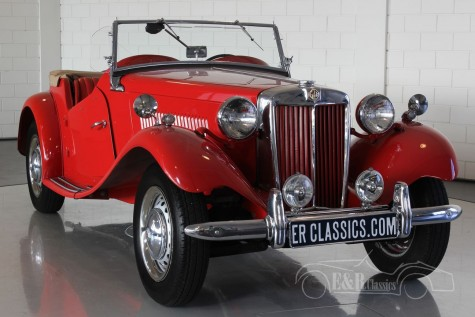 MG TD 1952 Roadster  for sale