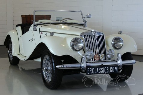MG TF 1250 Roadster LHD 1954  for sale