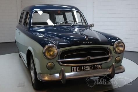 Peugeot 403 Commerciale 1959 eladó