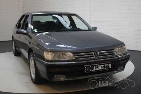 標致605 SR 3.0 V6 1990出售