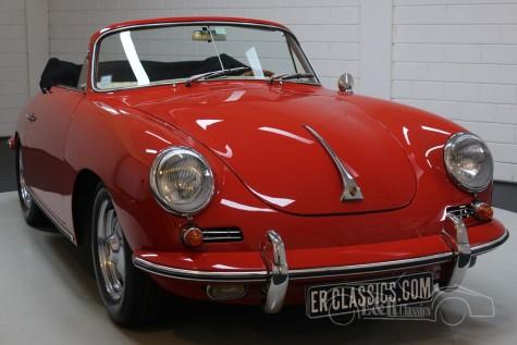 Porsche 356B T6 Cabriolet Super 90 1962 till salu